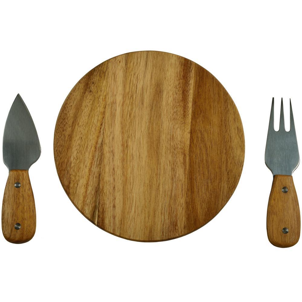 Flooring Tools Bristol: Bristol Acacia Cheese Board Set With Tools In Natural Gift