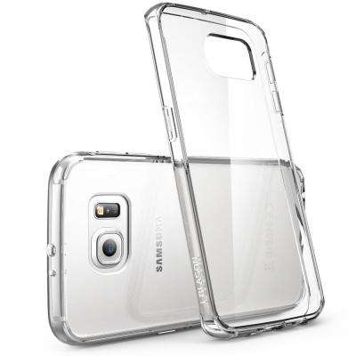 Halo Scratch Resistant Case for Samsung Galaxy S6 Edge, Clear