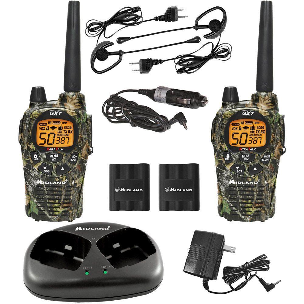 Midland Mossy Oak X-TRA Talk GMRS 36-Mile 50-Channel 2-Way Radios (2-Pack) by Midland