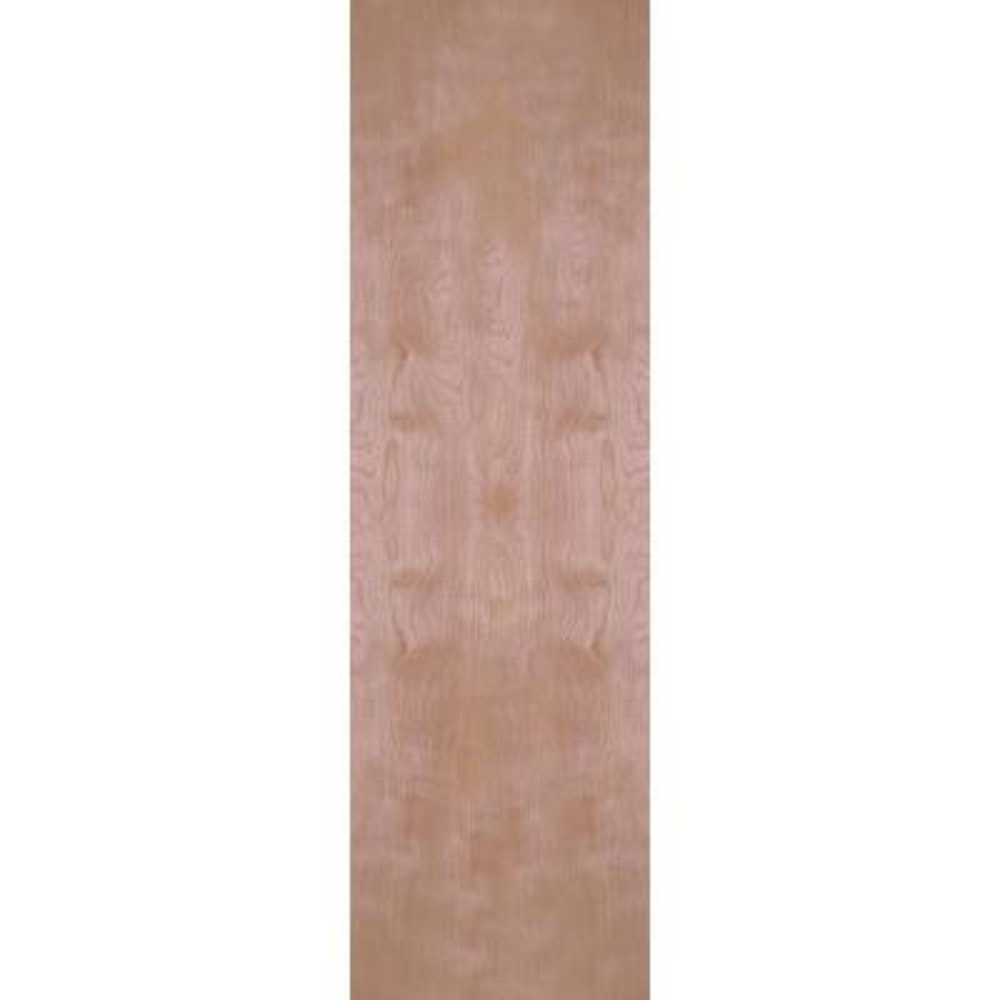 24 in. x 80 in. Smooth Flush Hardwood Hollow Core Birch Veneer Composite Interior Door Slab