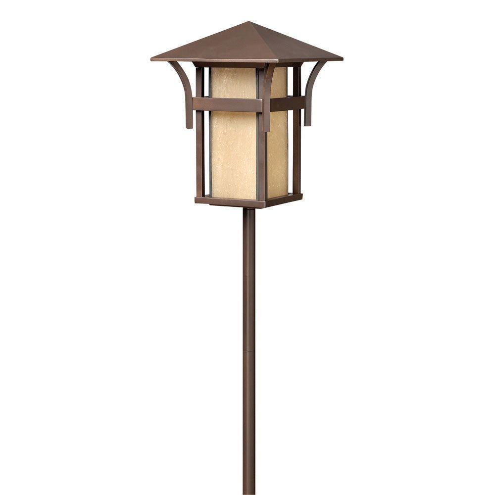 Hinkley Lighting Low-Voltage 18-Watt Anchor Bronze Harbor Path Light
