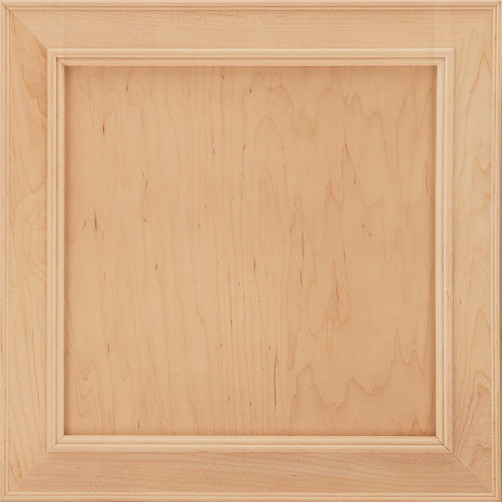 14-9/16x14-1/2 in. Cabinet Door Sample in Brookland Maple Natural