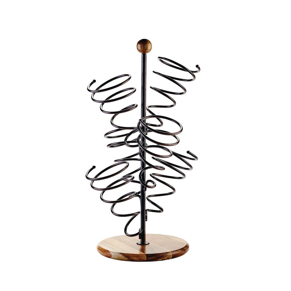 Spiral 6-Bottle Wine Rack