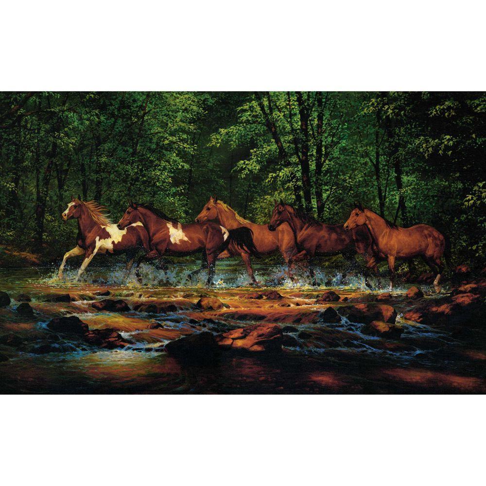 Running Horses Wall Mural Part 50