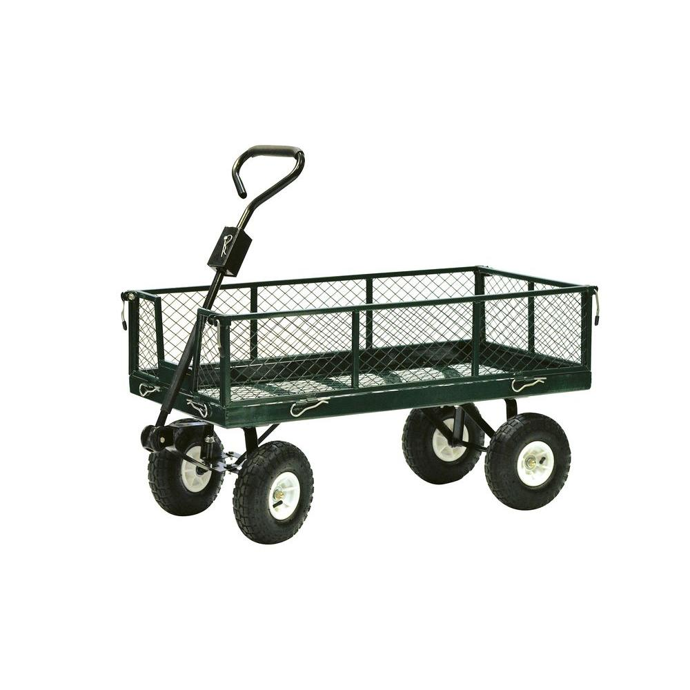 Precision 600 Lb Drop Side Nursery Cart