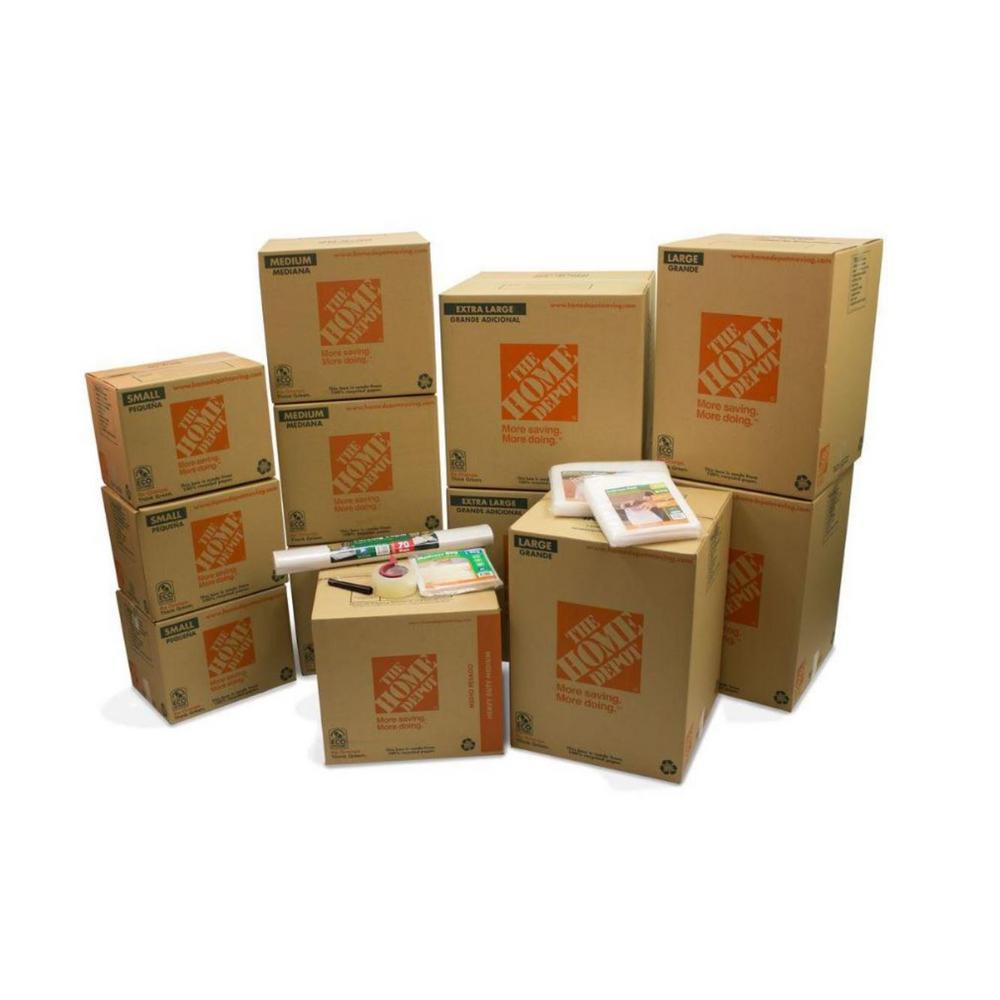 50-Box 2 Bedroom Moving Kit