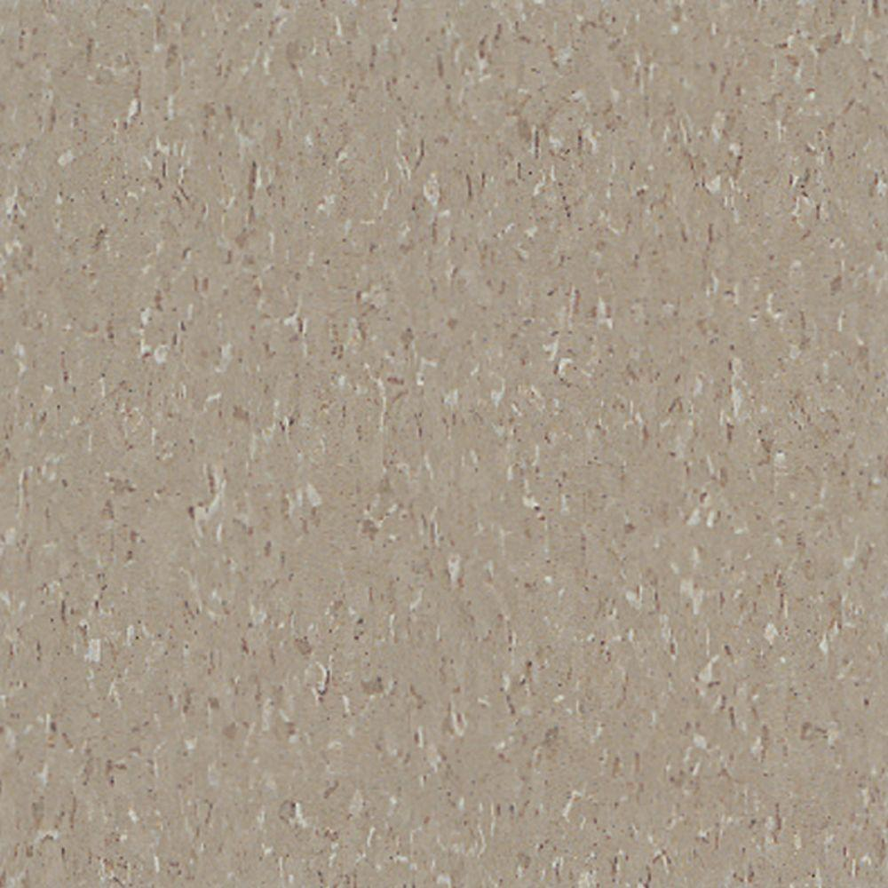 Imperial Texture VCT 12 in. x 12 in. Earthstone Greige Standard