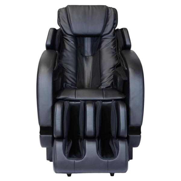Infinity Infinity Escape Black Zero Gravity Massage Chair with Space-saving and