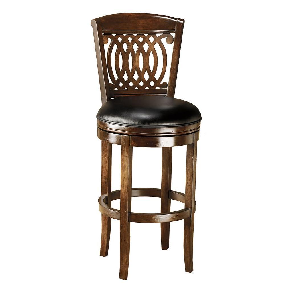Hillsdale Furniture Vienna Swivel Bar Stool