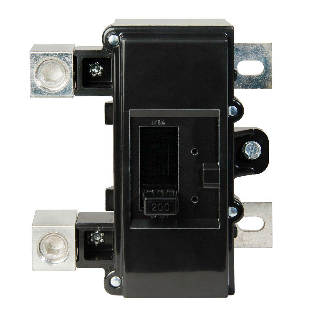 QO 200 Amp AIR QOM2 Frame Size Main Circuit Breaker for QO and Homeline Load Centers