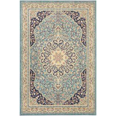 Gallatin Blue 8 ft. x 10 ft. Area Rug