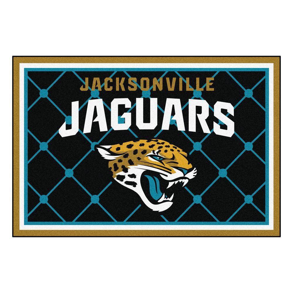 Jacksonville Jaguars 5 ft. x 8 ft. Area Rug