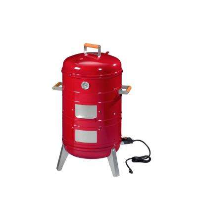 Americana 4-in-1 Electric or Charcoal Smoker and Grill