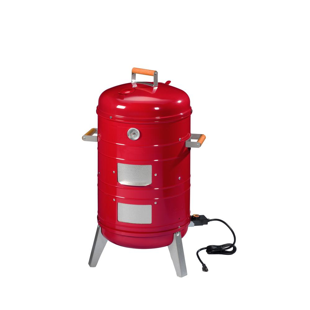 Southern Country 4 In 1 Electric Or Charcoal Smoker And Grill
