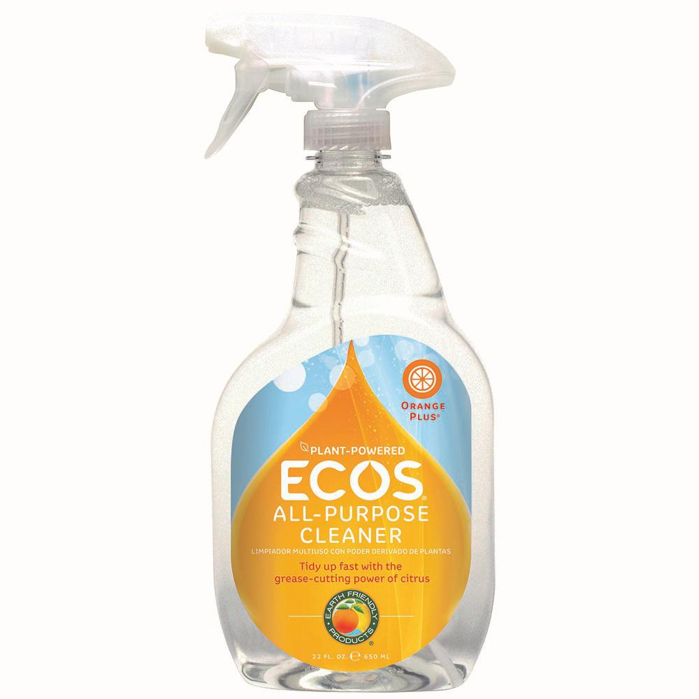 ECOS ECOS 22 oz. Trigger Spray Orange Plus Ready-to-Use All-Purpose Cleaner-Degreaser