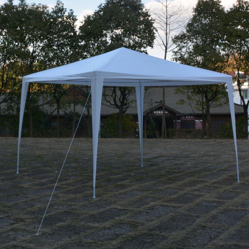 44 in. x 6 in. x 6 in. Waterproof Foldable White Tent