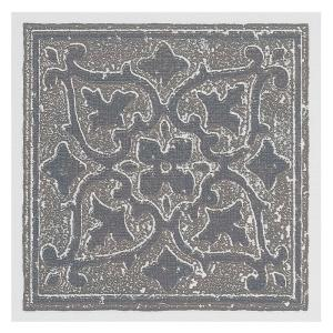 Click here to buy Achim Vinyl 4 inch x 4 inch Self-Sticking Motif Wall/Decorative Wall Tile in Grey Accent... by Achim.