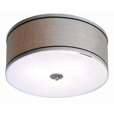 Margot 2-Light Steel Flush Mount
