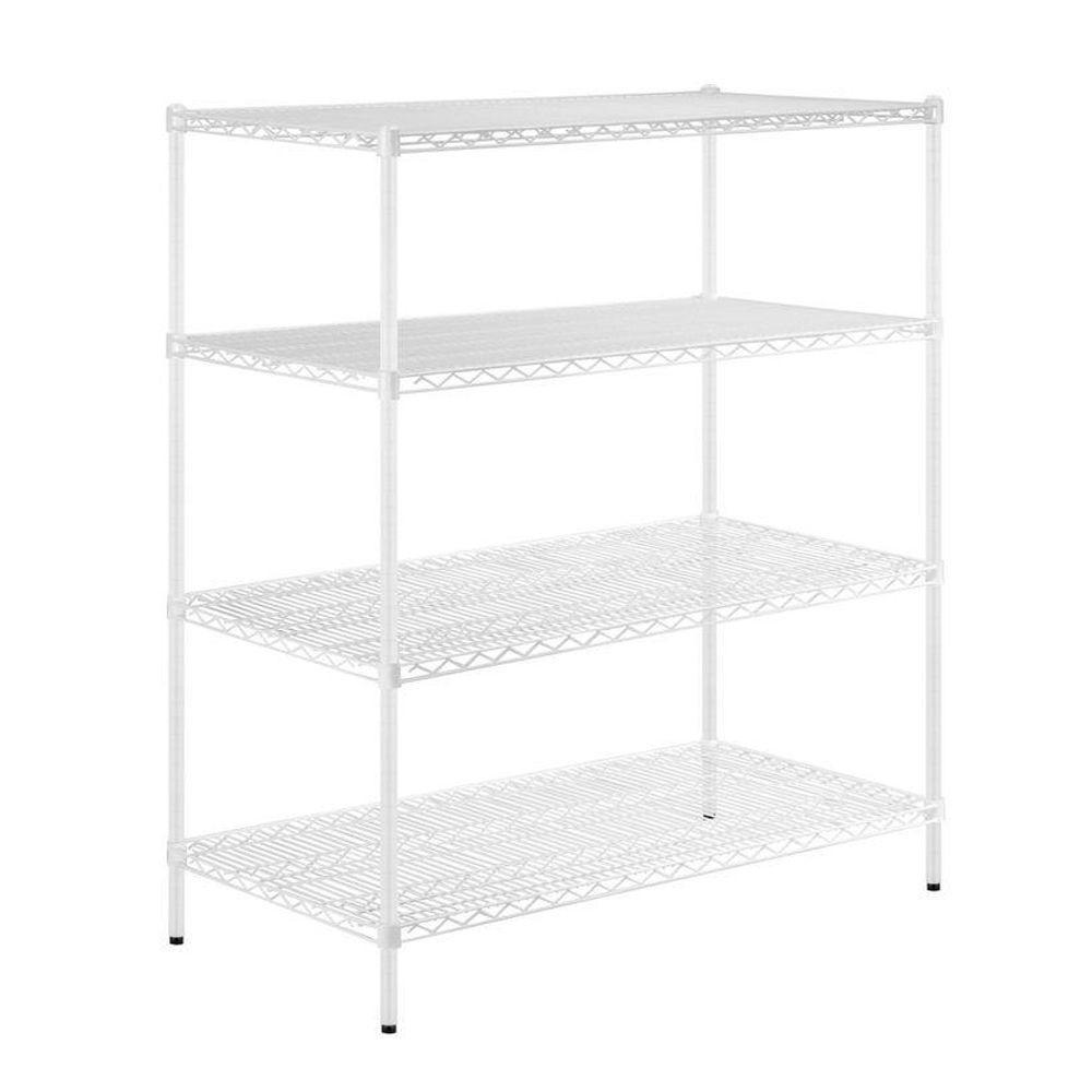d storage units plastic white in x w h garage p ventilated unit shelf gray shelving hdx