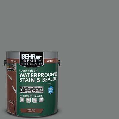 1 gal. #6795 Slate Gray Solid Waterproofing Stain and Sealer