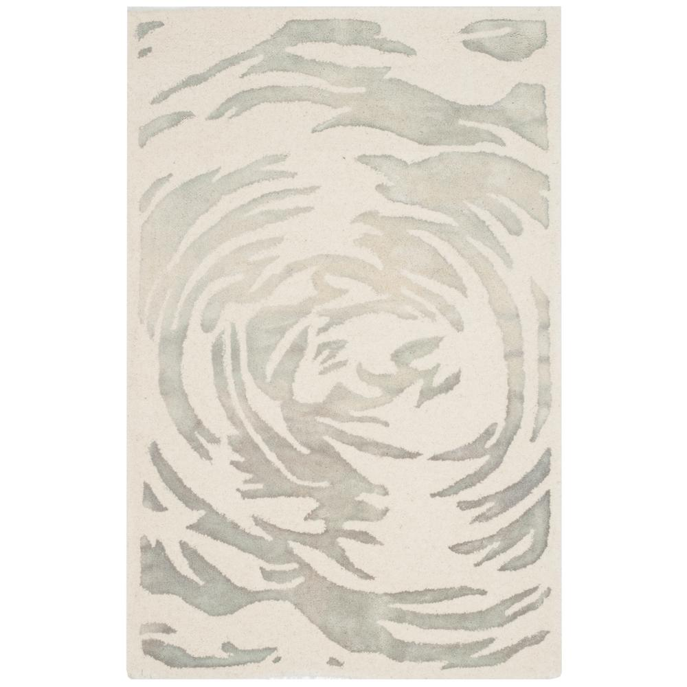 Bella Ivory/Gray 3 ft. x 5 ft. Area Rug