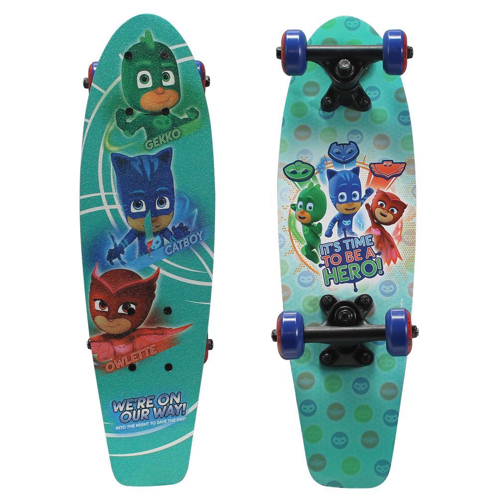 21 in. PJ Masks Hero Time Kids Complete Skateboard