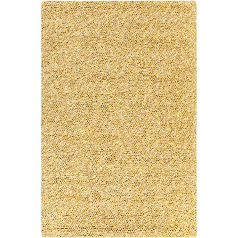Surya Confetti Gold 8 Ft X 10 Indoor Area Rug