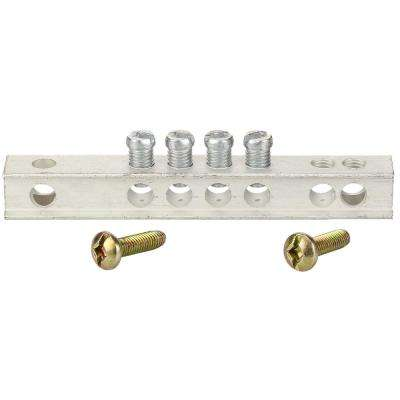 PowerMark Gold 4-Hole Grounding Bar Kit