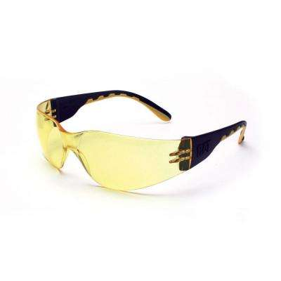 Safety Glasses Track Yellow Lens with Case