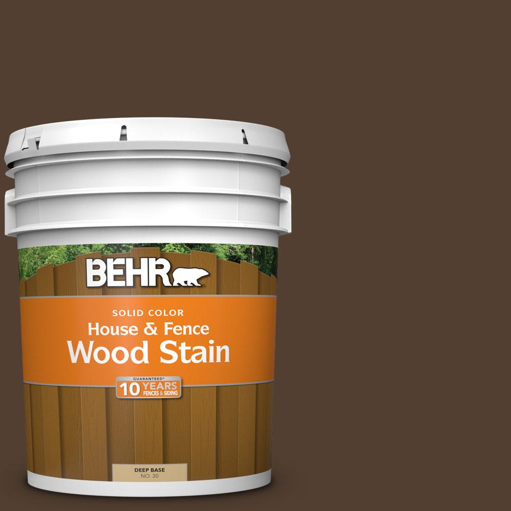 Behr 5 gal sc 111 wood chip solid house and fence - Behr exterior wood stain reviews ...