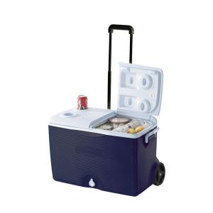 Click here to buy Rubbermaid 60 Qt. Wheeled Cooler by Rubbermaid.