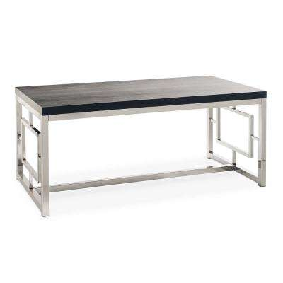Harper Black/Chrome coffee Table