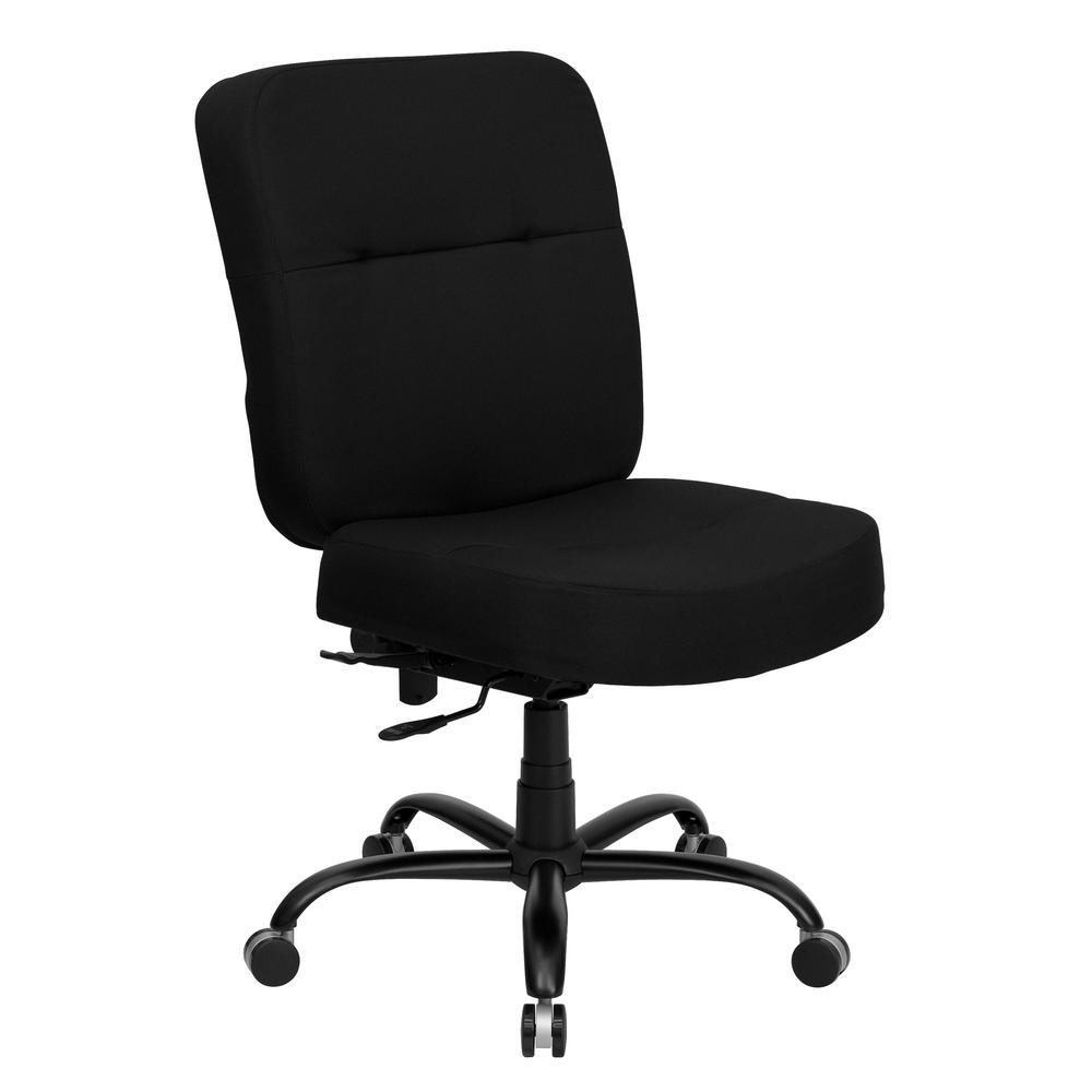 Boss Black Heavy Duty Task Chair B996