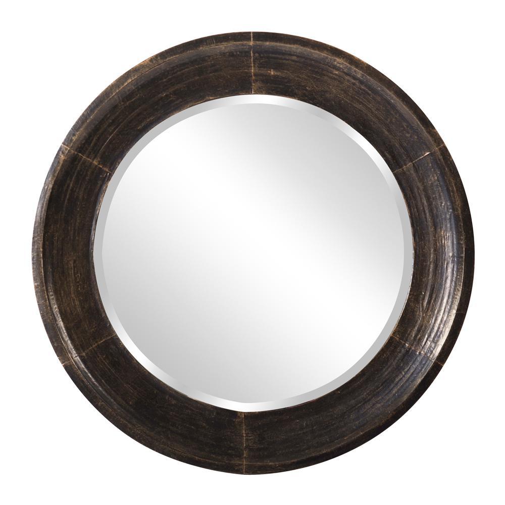 Montego Metal Round Mirror
