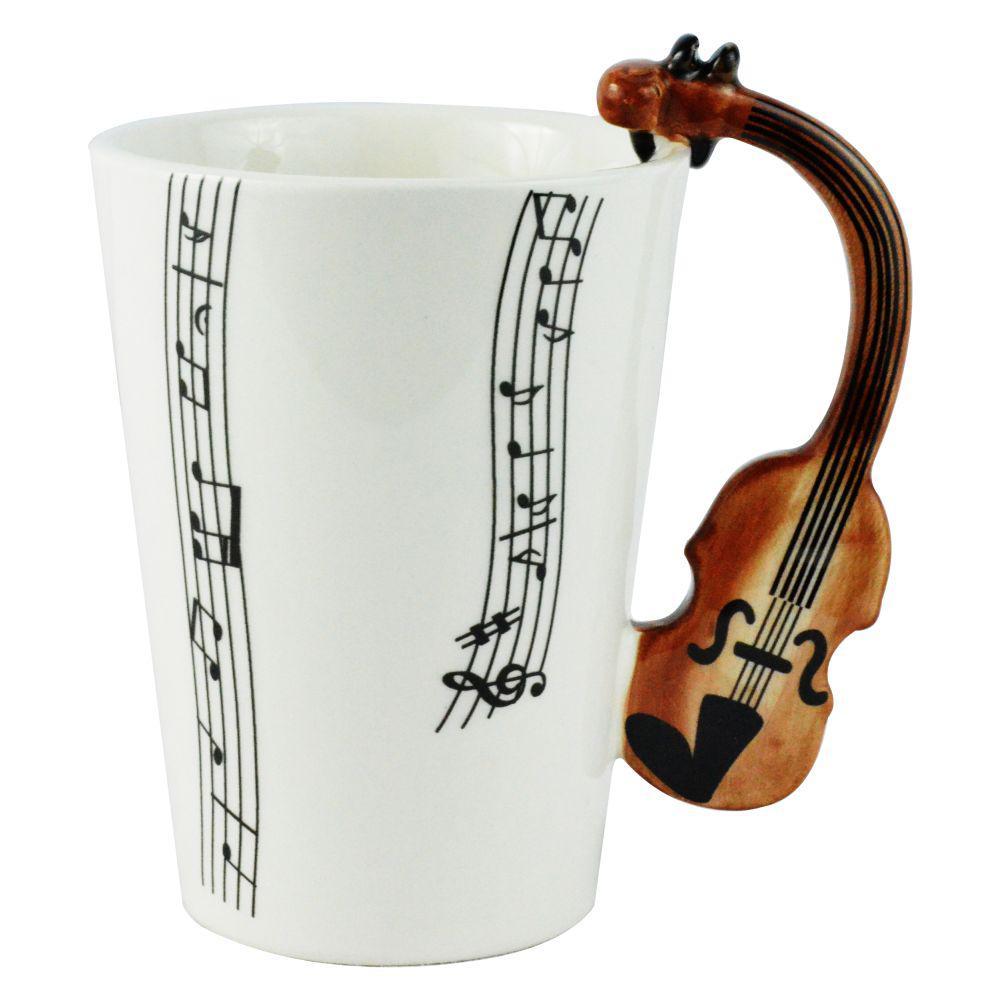 10 oz. Violin Coffee Mug