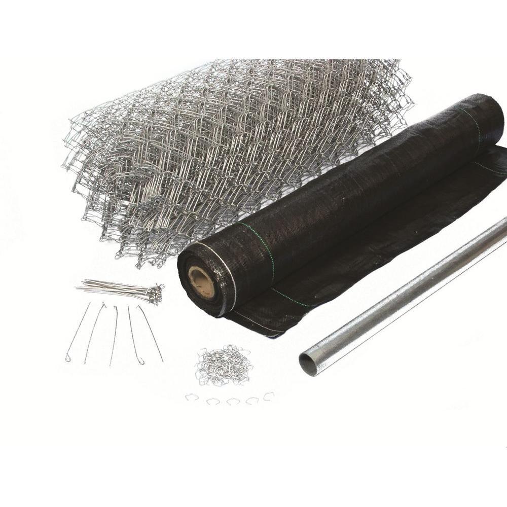 3-1/2 ft. x 300 ft. Black Super Silt Fence Kit by