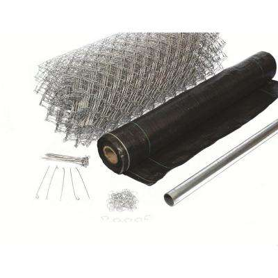 3-1/2 ft. x 300 ft. Black Super Silt Fence Kit