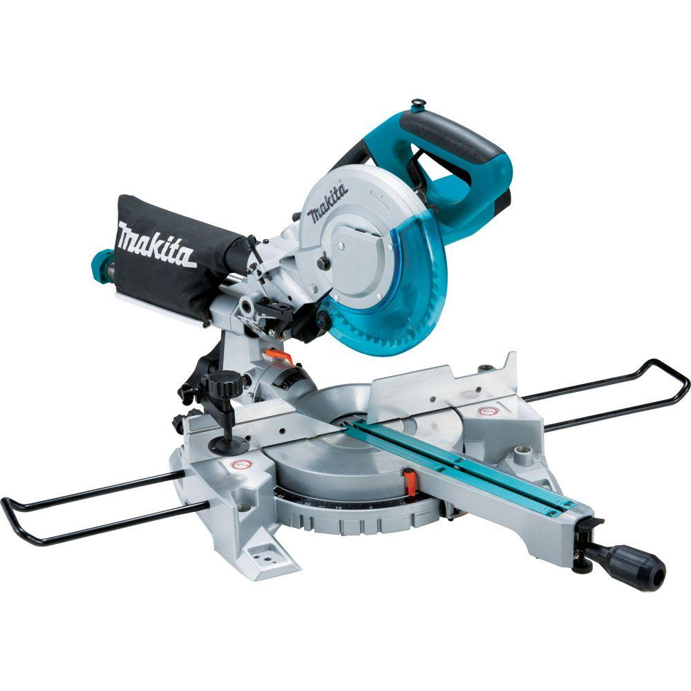 10.5 Amp 8-1/2 in. Corded Single Bevel Sliding Compound Miter Saw