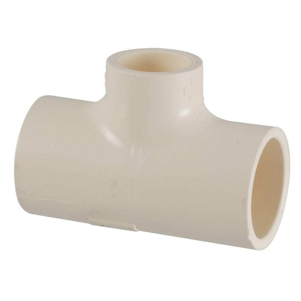 3 4 in x 3 4 in x 1 2 in cpvc cts slip x slip x slip for Cpvc hot water