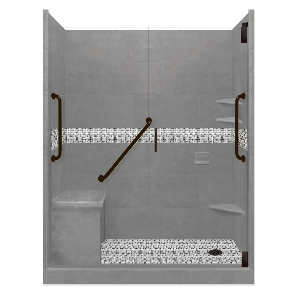Del Mar Freedom Grand Hinged 30 in. x 60 in. x