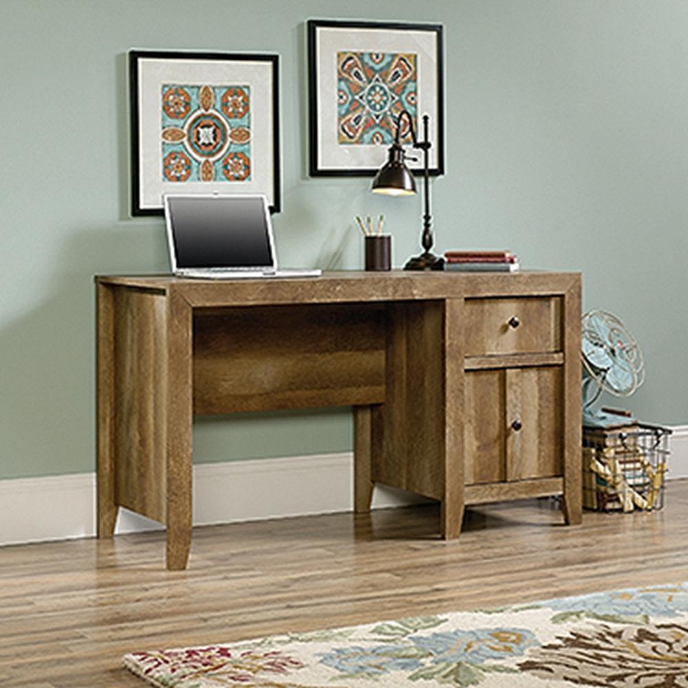 SAUDER Dakota Craftsman Oak Desk-420196
