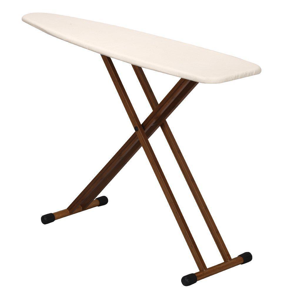 Bamboo 4-Leg Ironing Board