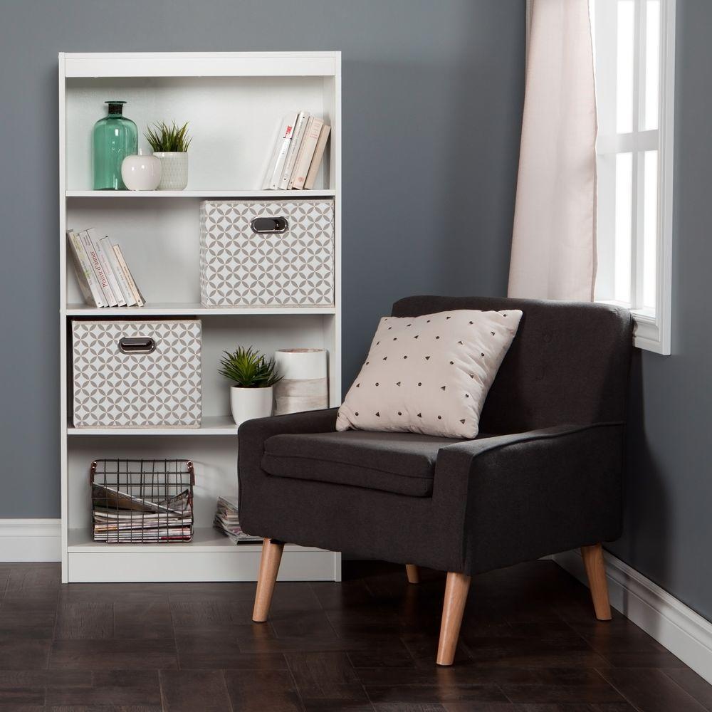 South Shore South Shore Axess Pure White Open Bookcase