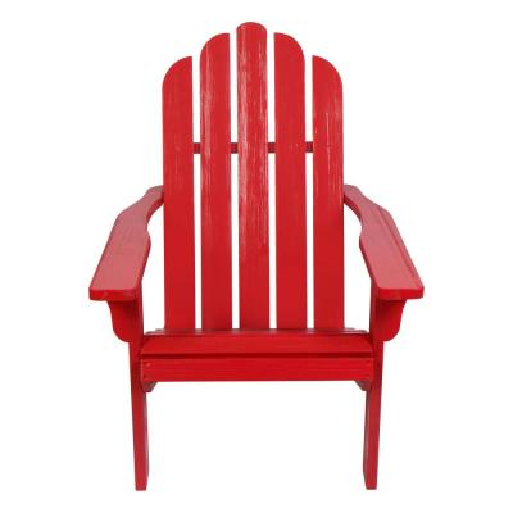 Marina II 37.5 in. Tall Red Cedar Wood HYDRO-TEX Finish Adirondack Chair