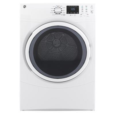 Admiral 6.5 cu. ft. 240 Volt White Electric Vented Dryer ... on