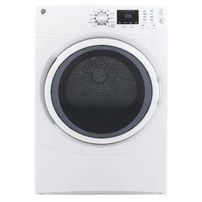 7.5 cu. ft. 240-Volt White Stackable Electric Vented Dryer, ENERGY STAR