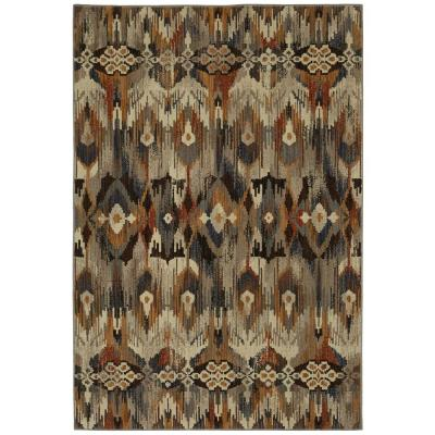 Atzi Multi 8 ft. x 11 ft. Tribal Area Rug