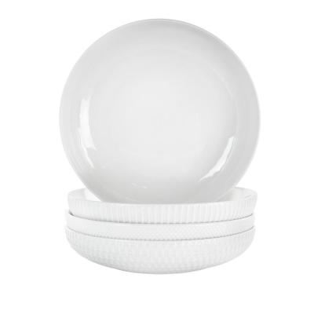 20 oz. White Porcelain Bowl (Set of 4)