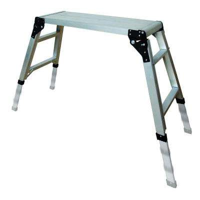 30.75 in. x 11.75 in. Adjustable Portable Work Platform