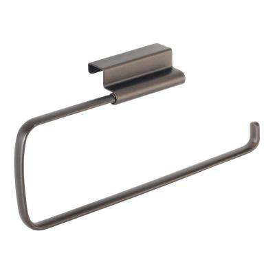 Axis Over the Cabinet Paper Towel Holder in Bronze
